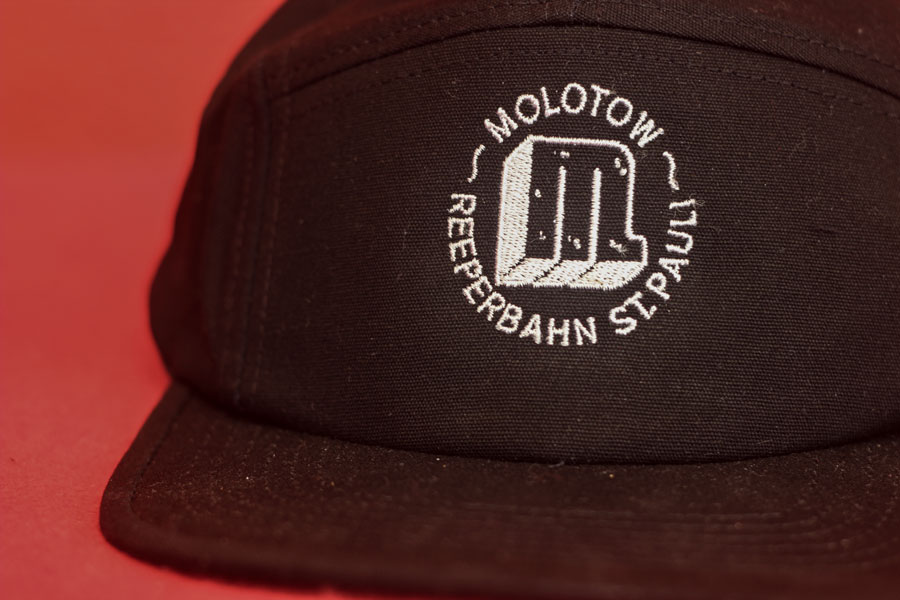 Logo Stick Cap Black