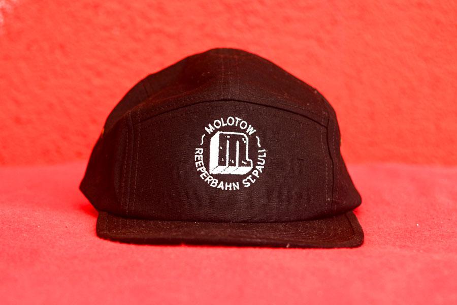 Logo Stick Gorra Negro