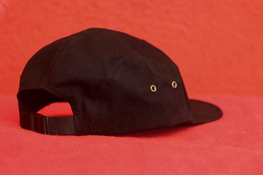 Logo Stick Cap Black