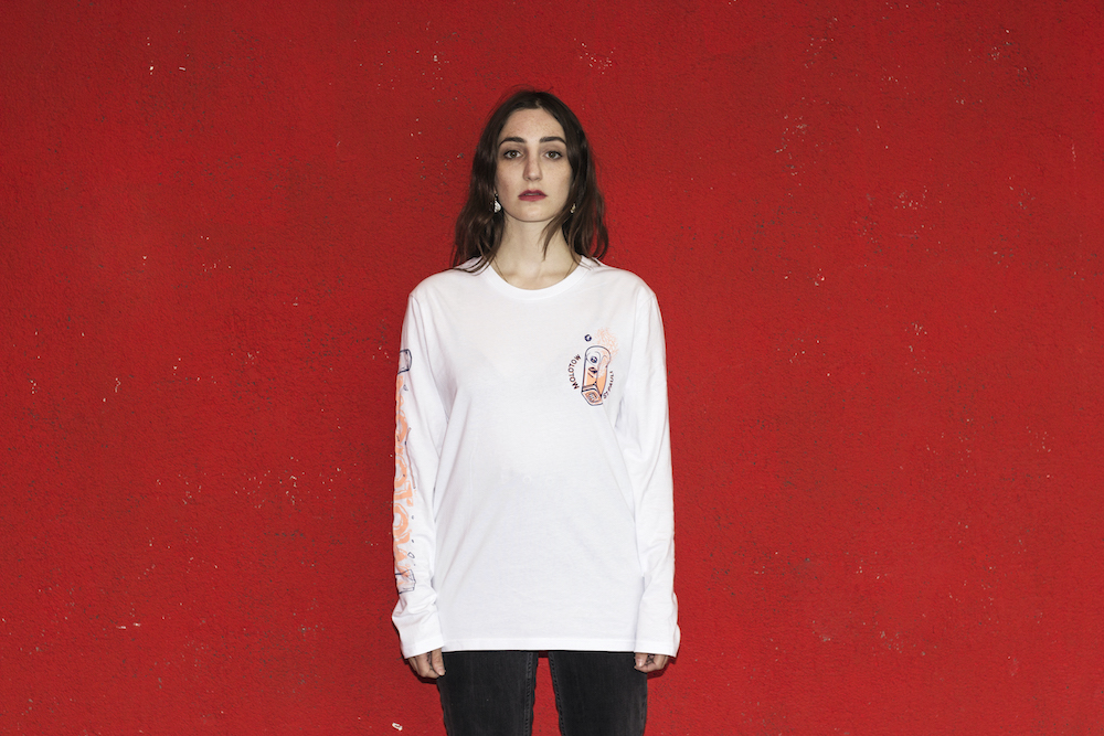 Cocktail Longsleeve White