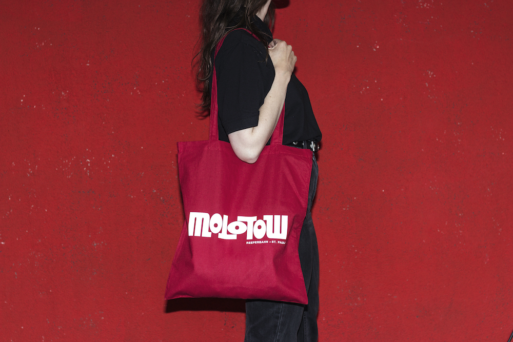 Logo Tote bag Red