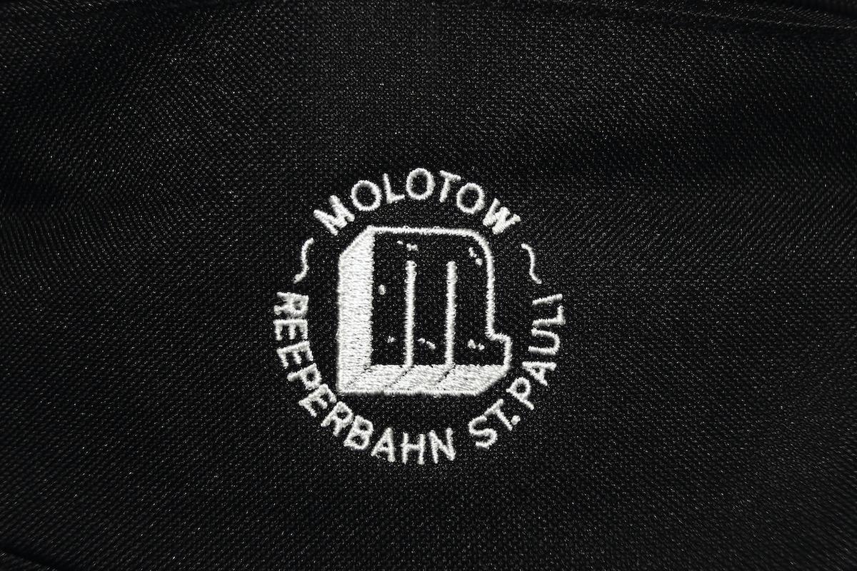 Logo Stick Bauchtasche Schwarz