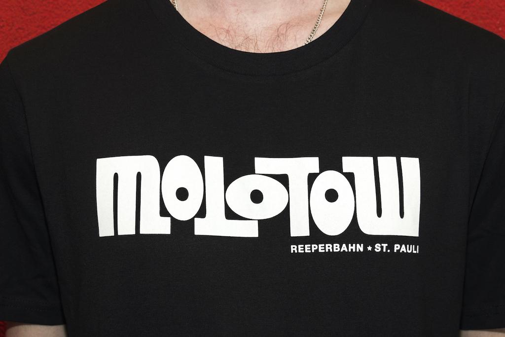Logo Untailliertes Shirt Negro