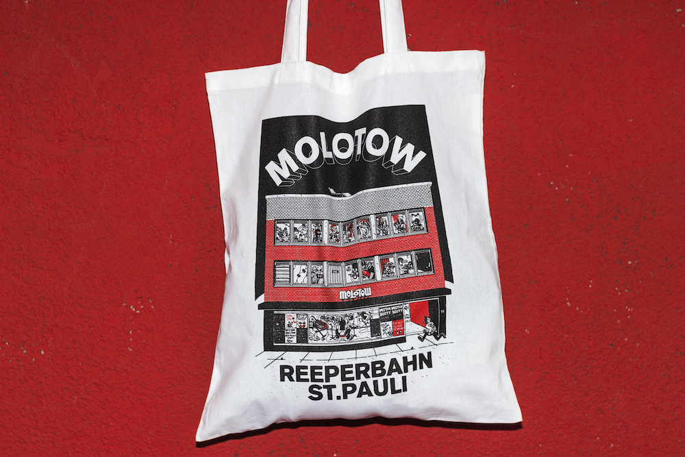 Venue Tote bag White