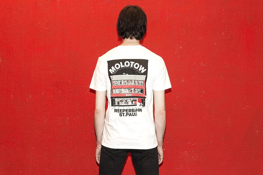 Venue Untailliertes Shirt Blanco