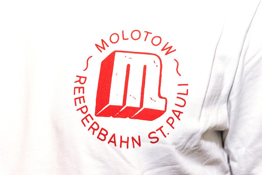 Venue Untailliertes Shirt Weiß